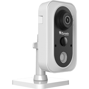 Pyronix 2 Megapixel Network Camera - Colour - 10 m Night Vision - H.264+, H.264, Motion JPEG - 1920 x 1080 - 4 mm - Wireless, Cable - Cube