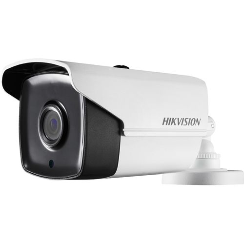 Hikvision Turbo HD DS-2CE16H0T-IT5F 5 Megapixel Surveillance Camera - Colour - 80 m Night Vision - 1920 x 1080 - 3.60 mm - CMOS - Cable - Bullet - Junction Box Mount