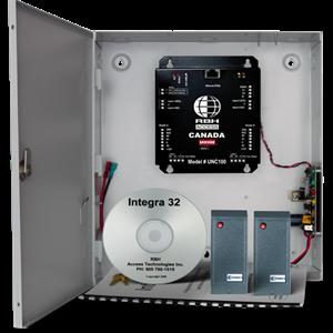RBH URC-2002 Door Access Control System - Door - Proximity - 3000 User(s) - 2 Door(s) - 1.22 km Operating Range - Ethernet - Network (RJ-45) - Serial - 16.5 V AC