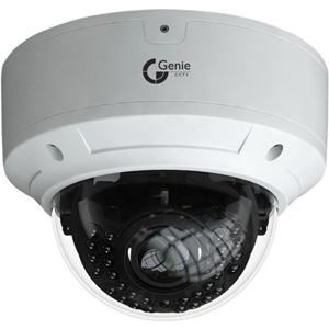 Genie WISH IP WIP5VDV5 5 Megapixel Network Camera - Colour - 50 m Night Vision - H.265, H.264, MJPEG - 2048 x 1536 - 2.80 mm - 12 mm - 4.3x Optical - CMOS - Cable - Dome - Junction Box Mount, Wall Mount, Ceiling Mount