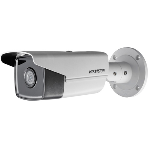 Hikvision EasyIP 2.0plus DS-2CD2T43G0-I5 4 Megapixel Network Camera - Colour - 50 m Night Vision - H.264, H.265, H.264+, H.265+, MJPEG - 2560 x 1440 - 2.80 mm - CMOS - Cable - Bullet - Junction Box Mount