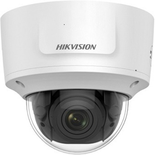 Hikvision DS-2CD2723G0-IZS 2 Megapixel Network Camera - Colour - 30 m Night Vision - H.265+, H.265, H.264+, H.264, MJPEG - 1920 x 1080 - 2.80 mm - 12 mm - 4.2x Optical - CMOS - Cable - Dome - Pendant Mount, Wall Mount, Pole Mount, Corner Mount, Ceiling Mount