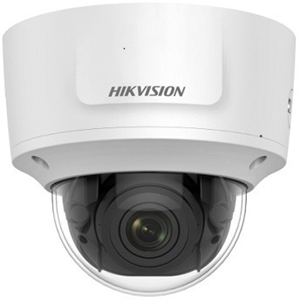 Hikvision DS-2CD2743G0-IZS 4 Megapixel Network Camera - Colour - 30 m Night Vision - H.264, H.264+, H.265, H.265+ - 2688 x 1520 - 2.80 mm - 12 mm - 4.3x Optical - CMOS - Cable - Dome - Ceiling Mount, Wall Mount, Corner Mount, Pole Mount, Pendant Mount