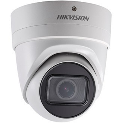 Hikvision EasyIP 2.0plus DS-2CD2H43G0-IZS 4 Megapixel Network Camera - Colour - 30 m Night Vision - H.265, H.264+, H.264, MJPEG, H.265+ - 2688 x 1520 - 2.80 mm - 12 mm - 4.3x Optical - CMOS - Cable - Turret - Wall Mount, Pendant Mount, Ceiling Mount, Pole Mount, Corner Mount, Junction Box Mount