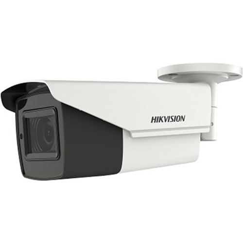 Hikvision Turbo HD DS-2CE16H0T-IT3ZF 5 Megapixel Surveillance Camera - Monochrome, Colour - 40 m Night Vision - 2560 x 1944 - 2.70 mm - 13.50 mm - 5x Optical - CMOS - Cable - Bullet - Junction Box Mount, Pole Mount, Corner Mount