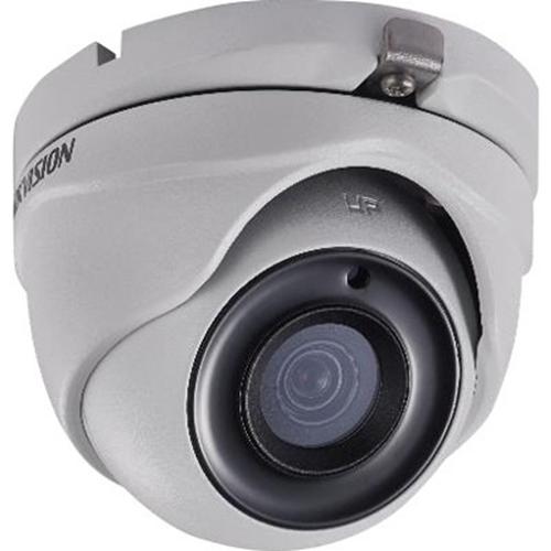 Hikvision Turbo HD DS-2CE56H0T-ITMF 5 Megapixel Surveillance Camera - Colour - 20 m Night Vision - 2560 x 1944 - 2.80 mm - CMOS - Cable - Turret - Junction Box Mount, Wall Mount, Pole Mount