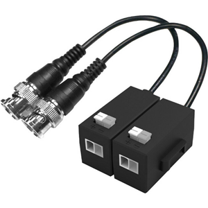 Dahua PFM800-E Video Balun - ABS Plastic - 1920 x 1080 - 400 m Maximum Operating Distance - BNC In - BNC Out
