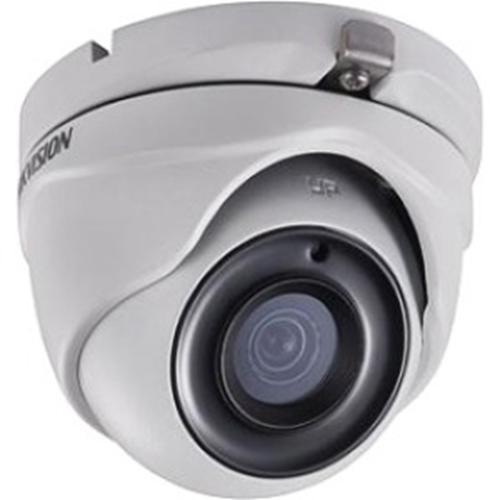 Hikvision Turbo HD DS-2CE56H0T-ITME 5 Megapixel Surveillance Camera - Monochrome, Colour - 20 m Night Vision - 2560 x 1944 - 2.80 mm - CMOS - Cable - Turret - Wall Mount, Pole Mount, Corner Mount, Junction Box Mount
