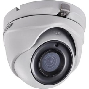 Hikvision Turbo HD DS-2CE56H0T-ITME 5 Megapixel Surveillance Camera - Monochrome, Colour - 20 m Night Vision - 2560 x 1944 - 2.80 mm - CMOS - Cable - Turret - Wall Mount, Pole Mount, Corner Mount, Junction Box Mount