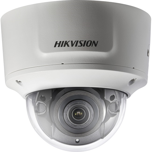 Hikvision DS-2CD2745FWD-IZS 4 Megapixel Network Camera - Monochrome, Colour - 30 m Night Vision - H.264+, Motion JPEG, H.264, H.265+, H.265 - 2560 x 1440 - 2.80 mm - 12 mm - 4.3x Optical - CMOS - Cable - Dome - Wall Mount, Pendant Mount, Pole Mount, Corner Mount