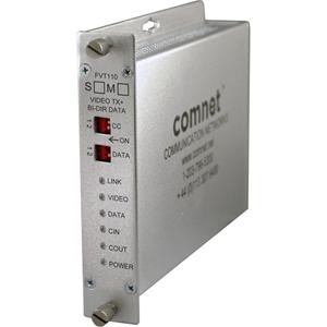 Comnet FVT110M1 Video Extender Transmitter - Wired - 3 km Range - Rack-mountable