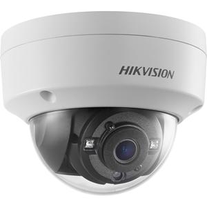 Hikvision DS-2CE56H0T-VPITF 5 Megapixel Surveillance Camera - Colour - 20 m Night Vision - 2560 x 1944 - 2.80 mm - CMOS - Cable - Dome - Ceiling Mount, Pendant Mount, Wall Mount, Junction Box Mount, Pole Mount