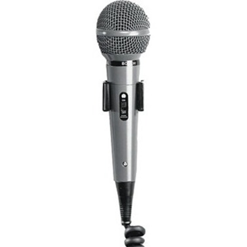 Bosch LBB 9099/10 Microphone - 100 Hz to 13 kHz - Wired - 1.20 m -4 dB - Dynamic - Hanging - DIN