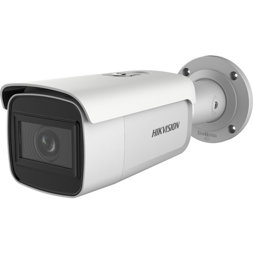 Hikvision EasyIP 3.0 DS-2CD2685G0-IZS 8 Megapixel Network Camera - Colour - 50 m Night Vision - H.265, H.264, Motion JPEG, H.264+, H.265+ - 3840 x 2160 - 2.80 mm - 12 mm - 4.3x Optical - CMOS - Cable - Bullet - Pole Mount, Corner Mount