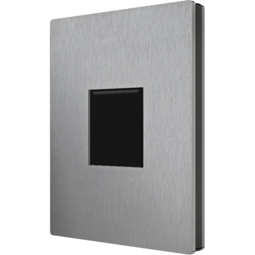 VIDEX Reader Cut Out Module for Access Control System, Access Control Reader, Proximity Reader - Vandal Resistant - Stainless Steel, Aluminum Die Cast - Grey