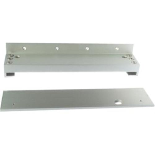 CDVI Mounting Bracket for Magnetic Lock - Anodized Aluminium - Satin