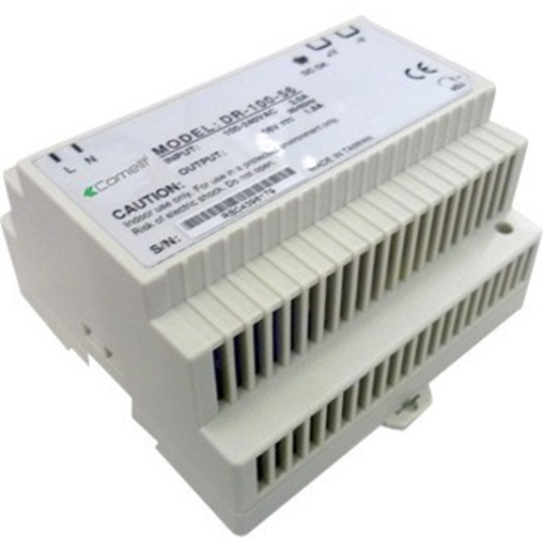 Comelit DR-100-55 Proprietary Power Supply - DIN Rail - 55 V DC Output