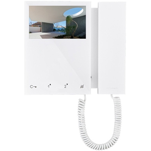 "Comelit 10.9 cm (4.3"") Video Door Phone - ABS Plastic - Door Entry, Intercom System"