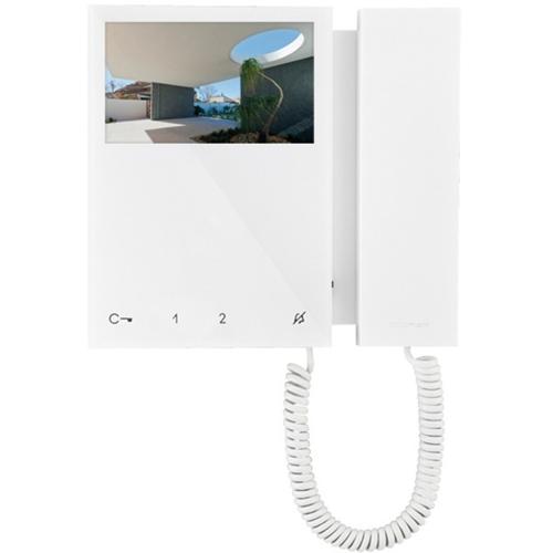 """Comelit 10.9 cm (4.3"""") Video Door Phone - ABS Plastic - Door Entry, Intercom System"""