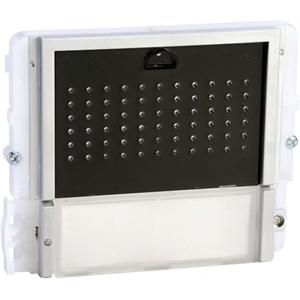 Comelit IKALL Door Entry System Audio Module for Speaker - Indoor, Outdoor - Metal - Black, White, Blue