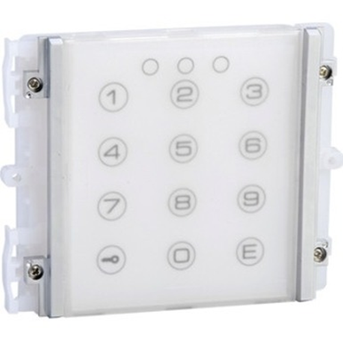Comelit iKall Intercom System Keypad Module for Intercom System - Outdoor, Door - Plastic, Steel - Blue, White