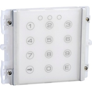 Comelit iKall Intercom System Keypad Module for Intercom System - Outdoor, Door - Plastic, Steel - Blue, White