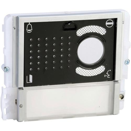 Comelit Speaker/Mic Module for Intercom System - Commercial - Black