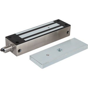 RGL Magnetic Lock - 544.31 kg Holding Force - Stainless Steel - Weather Proof, Dual Voltage, Surge Protection