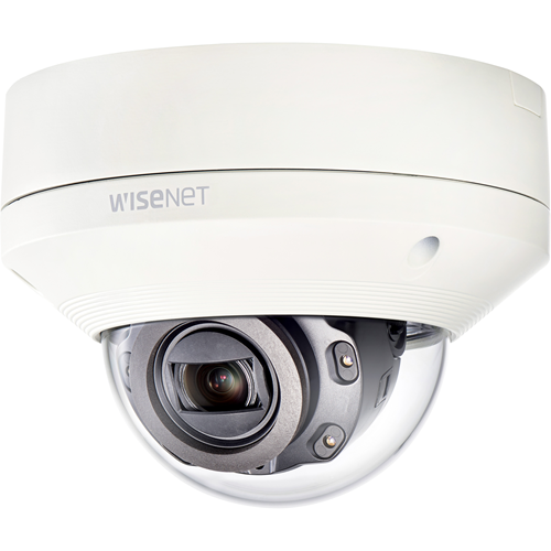 Hanwha Techwin WiseNet XNV-6080R 2 Megapixel Network Camera - 50 m Night Vision - MPEG-4 AVC, Motion JPEG, H.264, H.265 - 1920 x 1080 - 4.3x Optical - CMOS - Wall Mount, Ceiling Mount, Corner Mount, Pole Mount, Parapet Mount
