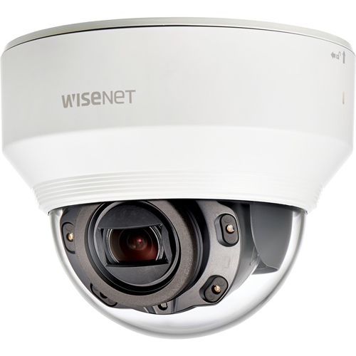 Hanwha Techwin WiseNet XND-6080R 2 Megapixel Network Camera - 30 m Night Vision - MPEG-4 AVC, Motion JPEG, H.264, H.265 - 1920 x 1080 - 4.3x Optical - CMOS - Wall Mount, Corner Mount, Pole Mount, Ceiling Mount, Parapet Mount