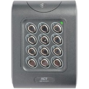 Vanderbilt ACTpro MF1050e Card Reader/Keypad Access Device - Door - Proximity, Mechanical Key - Wiegand - 24 V DC - Surface Mount, Flush Mount, Gang Box Mount