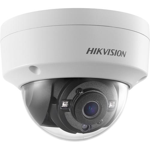 Hikvision Turbo HD DS-2CE56H0T-VPITF 5 Megapixel Surveillance Camera - Dome - 20 m Night Vision - 2560 x 1944 - CMOS - Junction Box Mount, Ceiling Mount, Pendant Mount, Wall Mount, Pole Mount