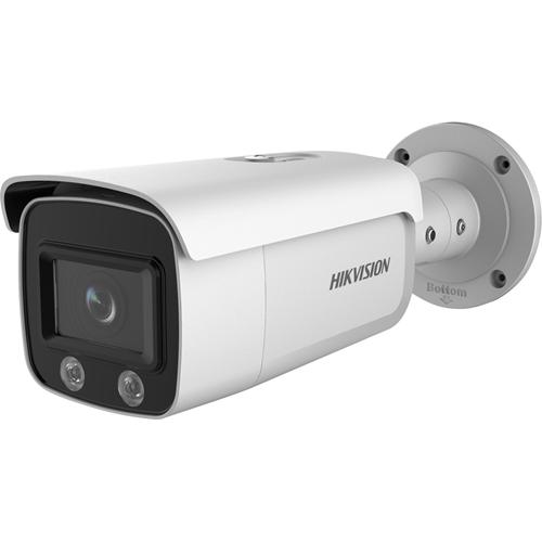 Hikvision EasyIP 4.0 DS-2CD2T47G1-L 4 Megapixel Network Camera - 30 m Night Vision - H.264+, H.265+, H.265, H.264, MJPEG - 2688 x 1520 - CMOS - Junction Box Mount, Pole Mount