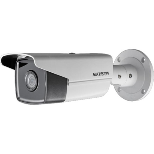 Hikvision EasyIP 3.0 DS-2CD2T45FWD-I5 4 Megapixel Network Camera - Bullet - 50 m Night Vision - H.265+, Motion JPEG, H.264, H.264+, H.265 - 2688 x 1520 - CMOS - Junction Box Mount