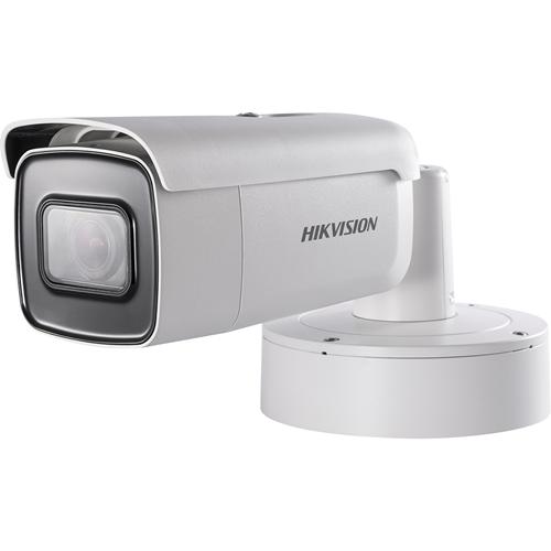 Hikvision EasyIP 2.0plus DS-2CD2643G0-IZS 4 Megapixel Network Camera - Bullet - 50 m Night Vision - H.264+, Motion JPEG, H.264, H.265+, H.265 - 2688 x 1520 - 4.3x Optical - CMOS - Corner Mount, Pole Mount, Ceiling Mount, Wall Mount, Surface Mount