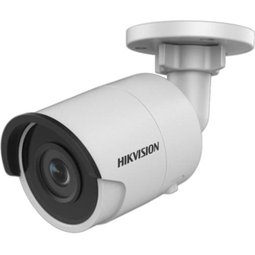 Hikvision EasyIP 3.0 DS-2CD2045FWD-I 4 Megapixel Network Camera - Bullet - 30 m Night Vision - H.264, H.265, H.264+, H.265+, MJPEG - 2688 x 1520 - CMOS - Junction Box Mount