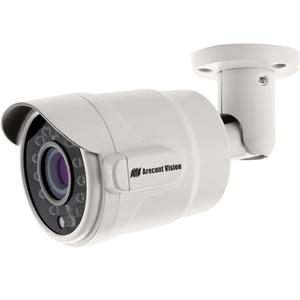 Arecont Vision MicroBullet AV3325DNIR 3 Megapixel Network Camera - 15.24 m Night Vision - Motion JPEG, H.264, MPEG-4 - 2048 x 1536 - 2.9x Optical - CMOS - Wall Mount