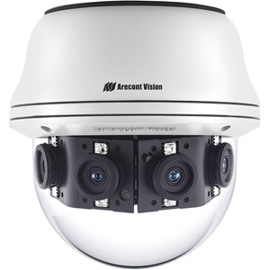 Arecont Vision Contera AV08CPD-118 8 Megapixel Network Camera - 30.48 m Night Vision - H.264, H.265, Motion JPEG, MPEG-4 - 1920 x 1080 - CMOS - Wall Mount, Junction Box Mount