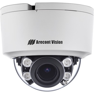 Arecont Vision ConteraIP AV05CID-100 5 Megapixel Network Camera - TAA Compliant - 20.12 m Night Vision - MPEG-4, H.265, Motion JPEG, H.264 - 2592 x 1944 - 5x Optical - CMOS - Surface Mount, Corner Mount, Pole Mount, Pendant Mount, Wall Mount