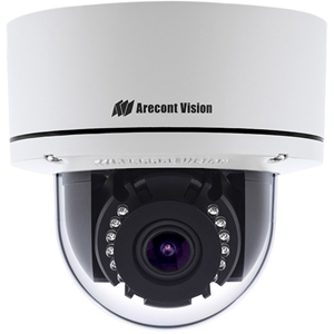 Arecont Vision Contera AV02CLD-100 2.1 Megapixel Network Camera - 20.12 m Night Vision - H.265, H.264, MPEG-4 AVC, Motion JPEG - 1920 x 1080 - 4.4x Optical - CMOS - Wall Mount, Junction Box Mount, Surface Mount