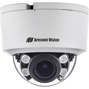 Arecont Vision ConteraIP AV02CID-100 2.1 Megapixel Network Camera - 20.12 m Night Vision - MPEG-4, H.265, Motion JPEG, H.264 - 1920 x 1080 - 5x Optical - CMOS - Surface Mount, Corner Mount, Pole Mount, Pendant Mount, Wall Mount