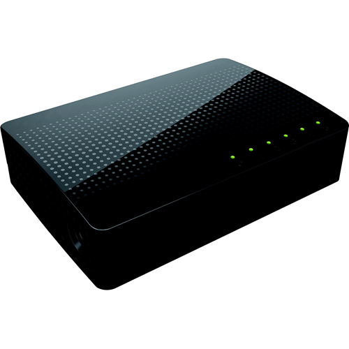W Box 5 Ports Ethernet Switch - 2 Layer Supported - Twisted Pair - Lifetime Limited Warranty