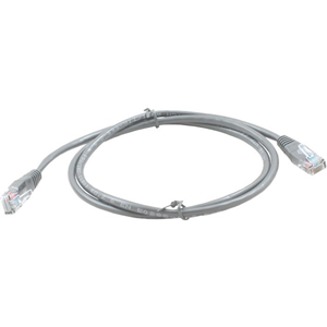Connectix 3 m Category 5e Network Cable for Network Device - First End: 1 x RJ-45 Male Network - Second End: 1 x RJ-45 Male Network - Patch Cable - Grey
