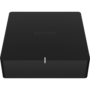 SONOS Port Network Audio/Video Player - Wireless LAN - Matte Black - YouTube - Internet Streaming - Ethernet