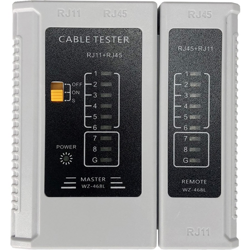 W Box Cable Analyzer - Twisted Pair Cable Testing, Cable Testing - Network (RJ-45) - 9V
