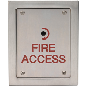 3E Fireman Switch - Surface-mountable for Fire