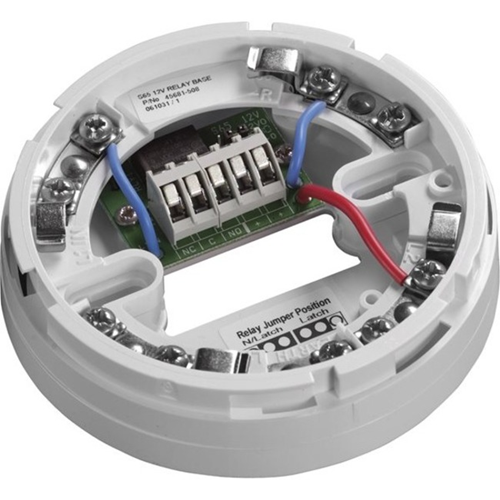 Apollo Detector Base - For Smoke Detector, Temperature Sensor - 9 V DC, 33 V DC - Nickel Plated Steel - White