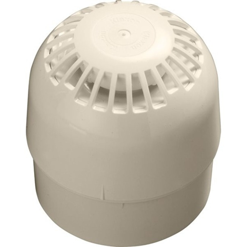 Apollo Security Alarm - Wired - 28 V DC - 100 dB(A) - Audible - Surface Mount - White