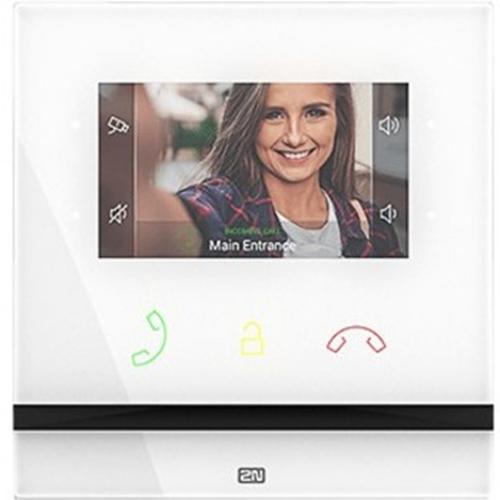 """2N 10.9 cm (4.3"""") Video Door Phone - Touchscreen - Tempered Glass - Indoor, Intercom System"""