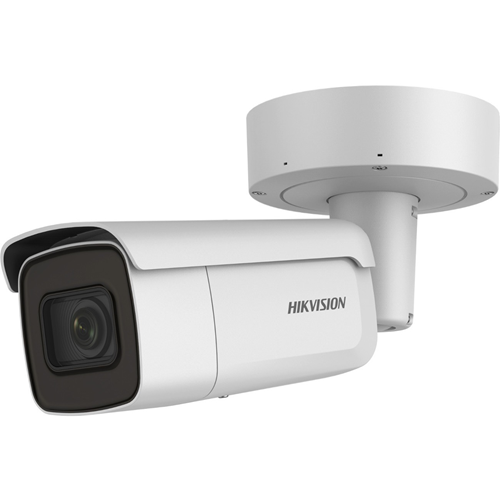 Hikvision EasyIP DS-2CD2626G2-IZS 2 Megapixel Network Camera - Bullet - 60 m Night Vision - H.264+, MJPEG, H.264, H.265, H.265+ - 1920 x 1080 - 4.3x Optical - CMOS - Corner Mount, Pole Mount, Column Mount